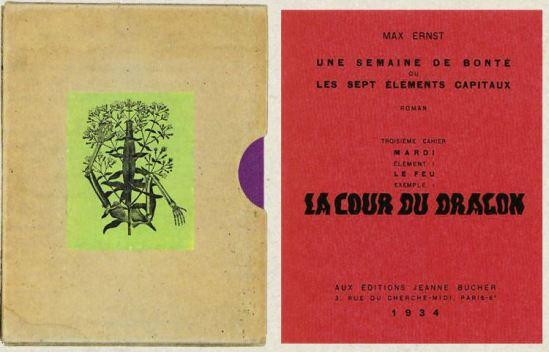 Max Ernst- Une semaine de bonté troisème cahier Mardi, La cour du DragonCahier 1934
