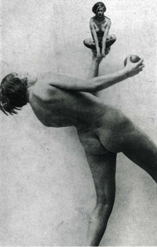 Nusch Éluard – Collage, ca. 1936 Collection of Timothy Baum, New York.