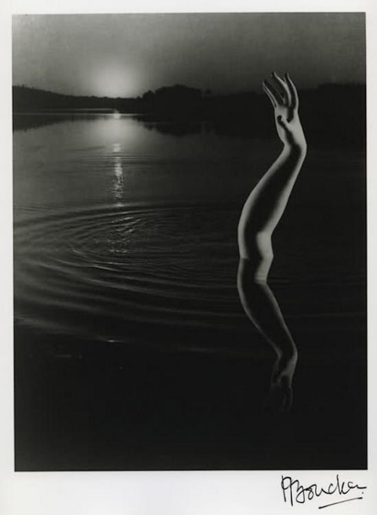 Pierre Boucher - Bras sur le Guadalquivir, 1934