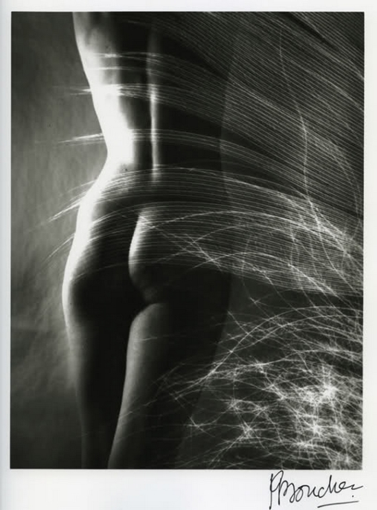 Pierre Boucher, Le nu à la plume,1932