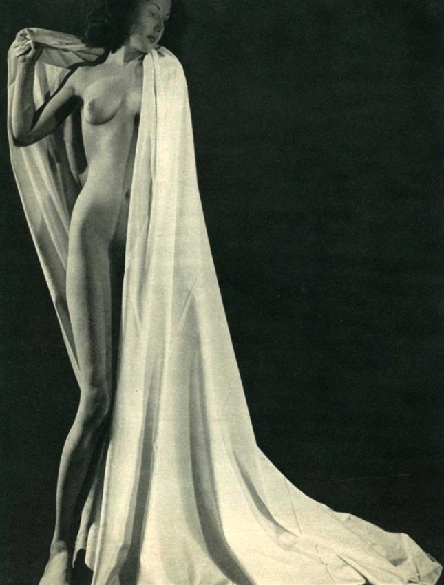 Pierre Boucher -Les Fantasmagories du Nu #002., 1937, Original vintage photogravure. c1949.