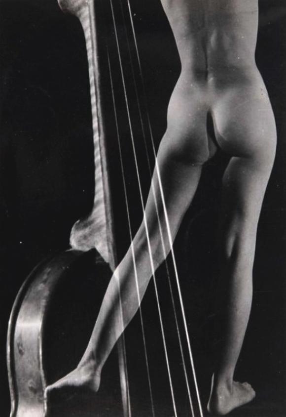 Pierre Boucher - Nu au violon, 1938