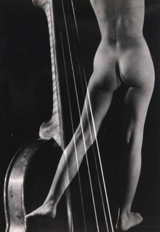 Pierre Boucher - Nu au violon, 1938