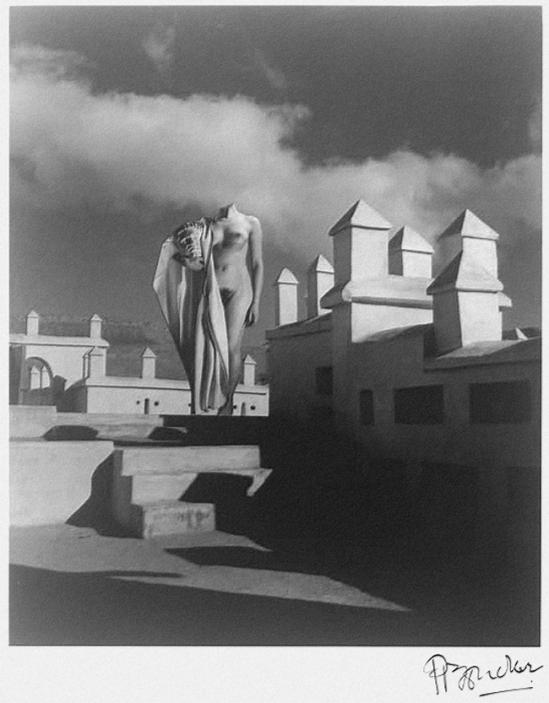Pierre Boucher, Nu à Télouet, Maroc,1936 #11 1937 from Les Fantasmagories du Nu