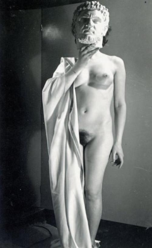 Pierre Boucher-Nu à tête romaine, 1936