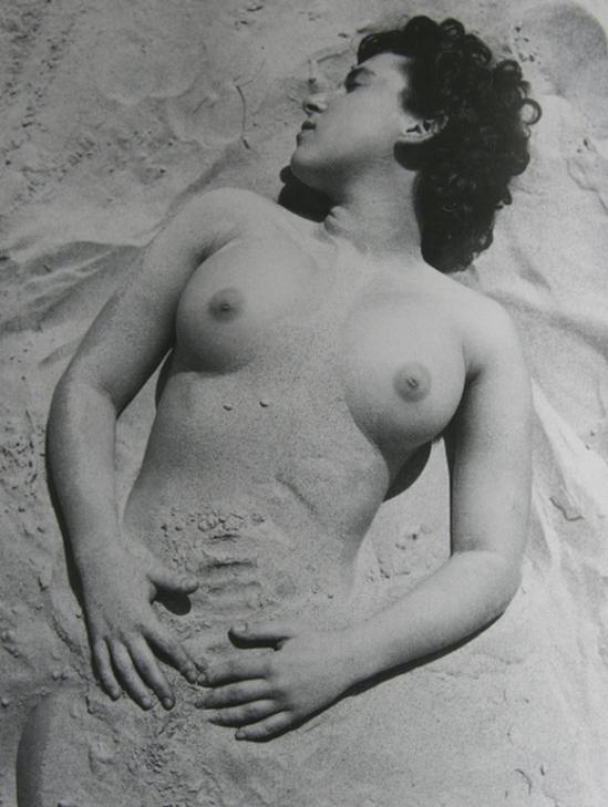 Pierre Boucher - Nu ensablé, 1930
