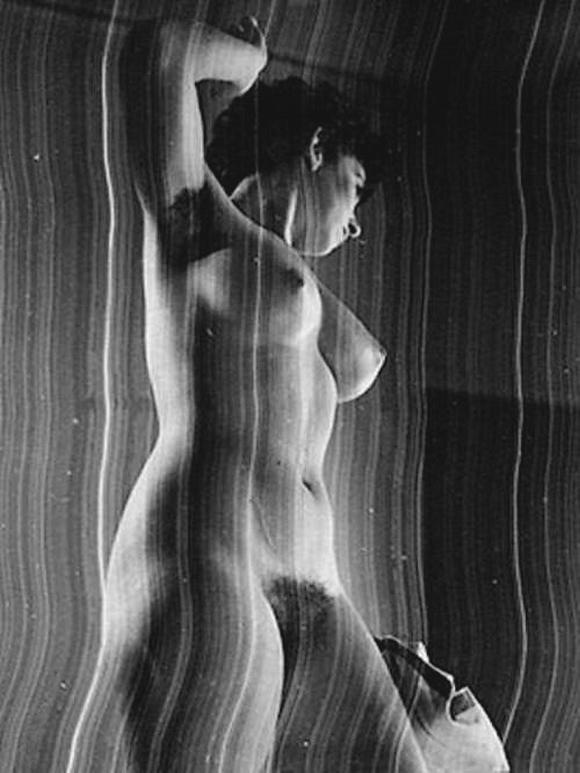 Pierre Boucher - Nu rayé, 1935