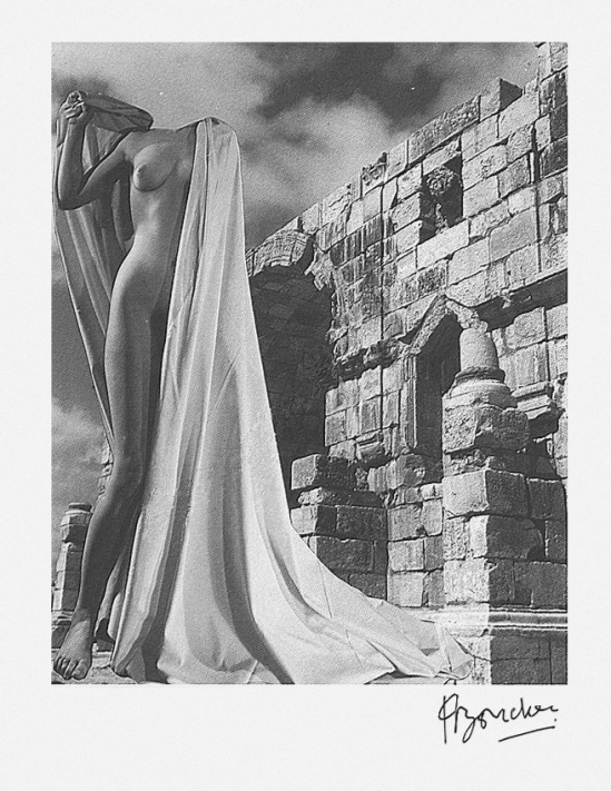 Pierre boucher Nu - Ruines de Volubilis,1937 from Les Fantasmagories du Nu # 7