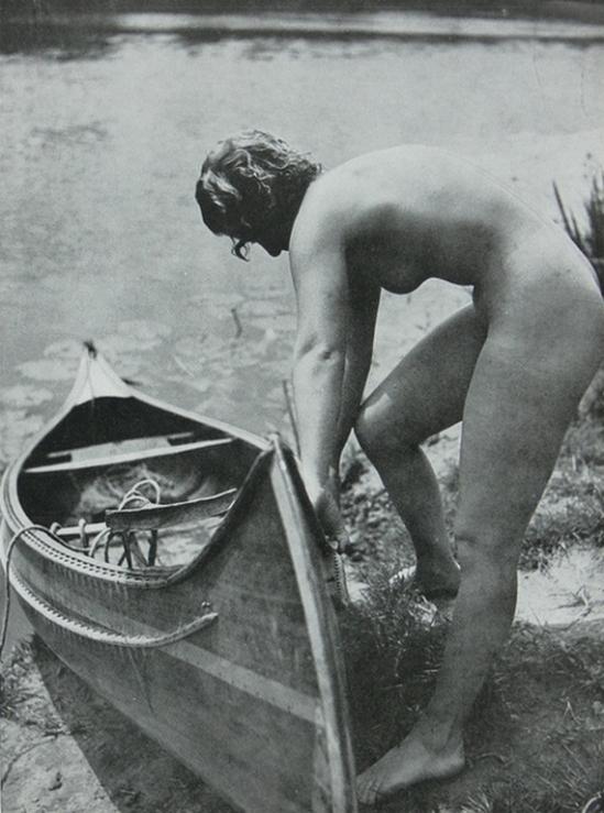 Pierre Boucher- Nu en extérieur, 1935