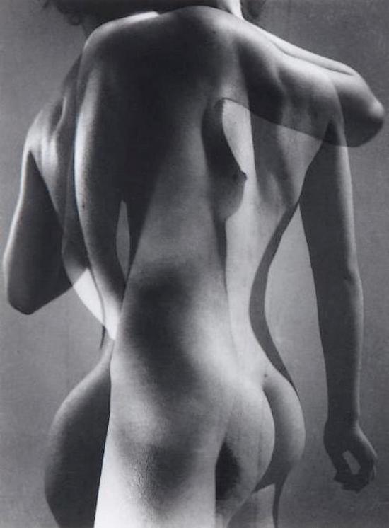 Pierre Boucher - Nu , Surimpression, 1935