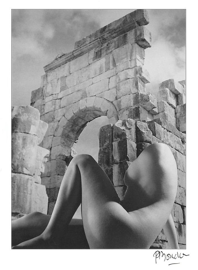 Pierre Boucher- photomontage les fantasmagories du nu.#13, 1937