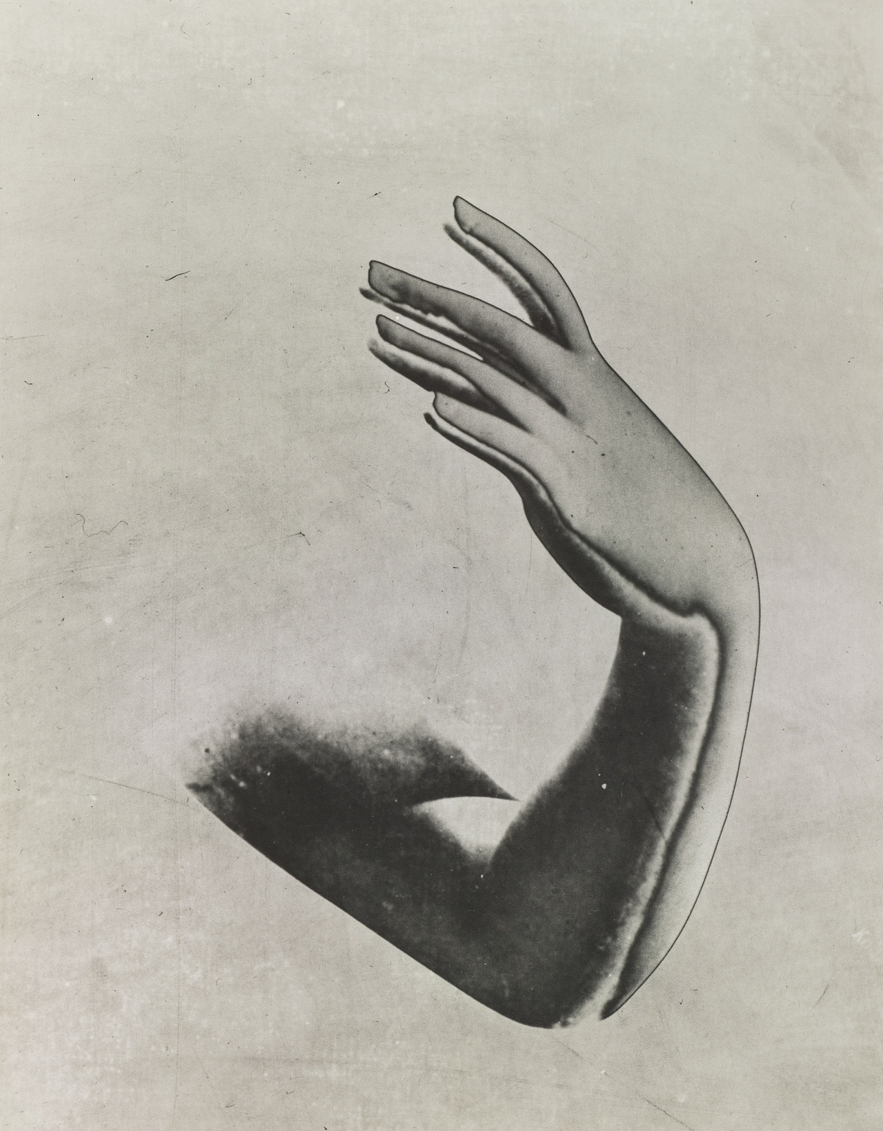Pierre Boucher- Solarized Arm and Hand, 1933