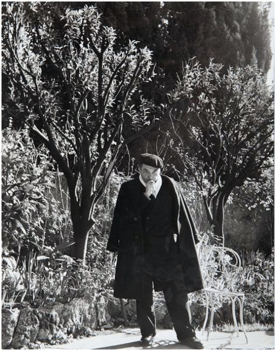 Gisèle Freund – Pierre Reverdy, 1960