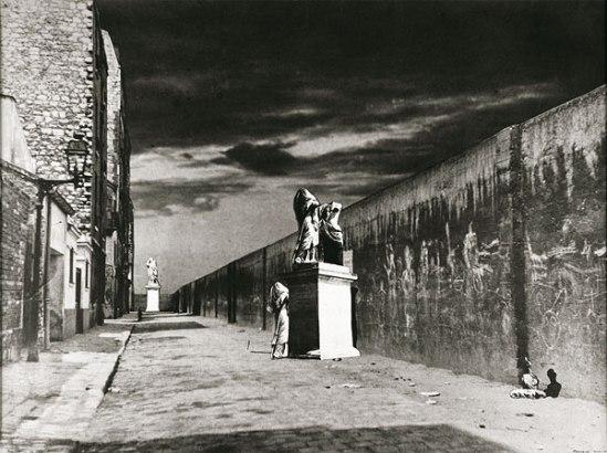Raoul Ubac, La Rue derrière la gare, 1936 photomontage