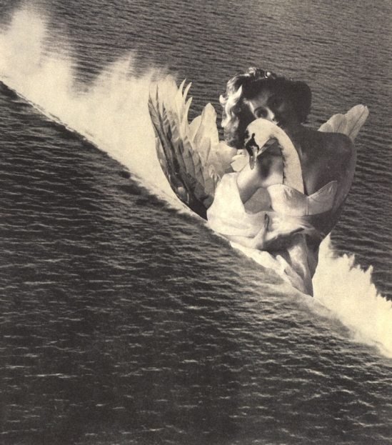 Toshiko Okanoue -Leda in the Sea, 1952 from The Miracle of Silence, Nazraeli Press, 2007