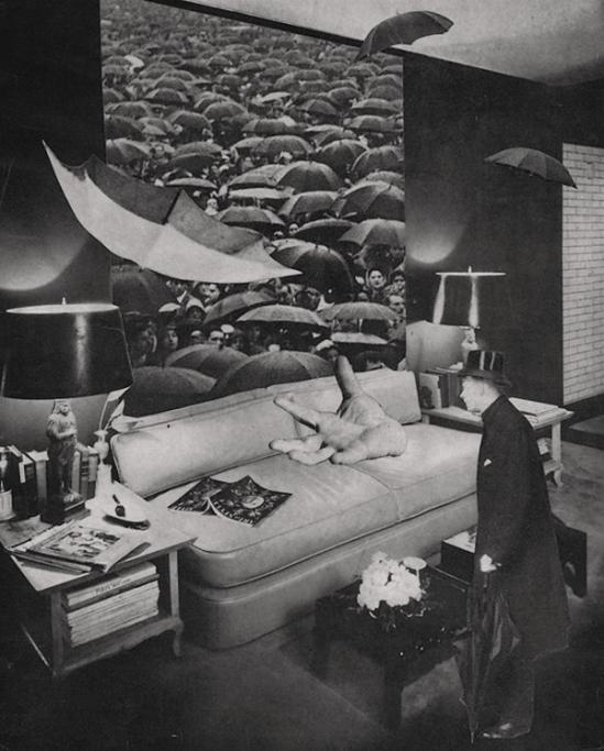 Toshiko Okanoue -Rainy Day, 1951, from Drop of Dreams