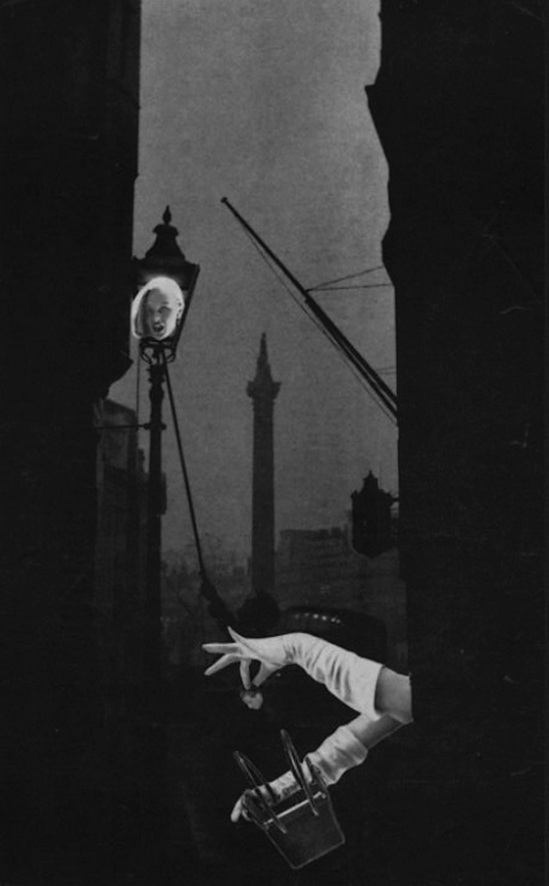 Toshiko Okanoue- Streetlamp, 1951 from Drop of Dreams