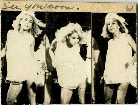 Wallace Berman - See you soon, 1975
