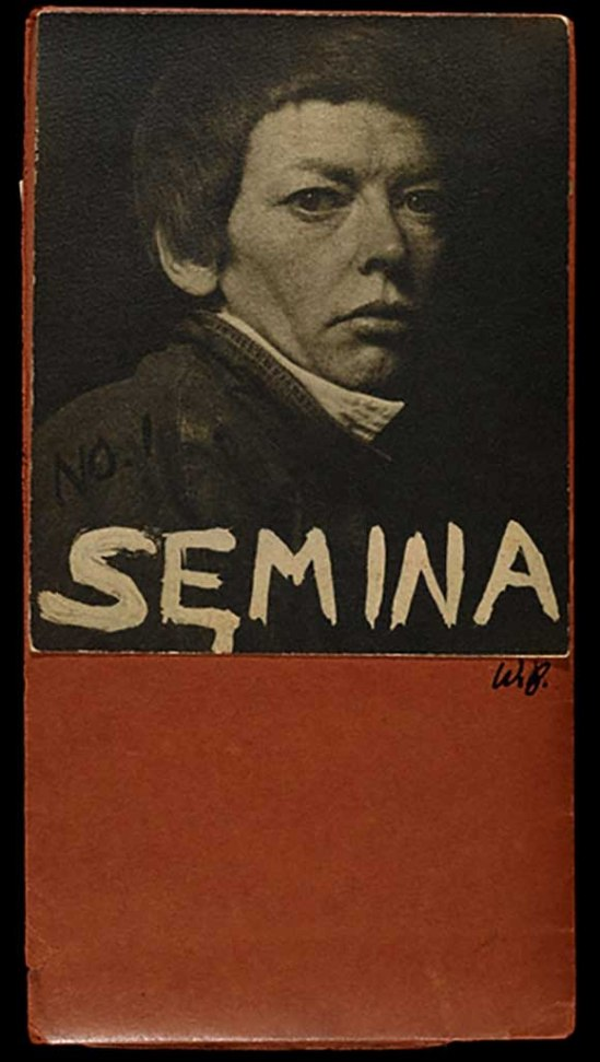 Wallace Berman Semina 1,.jpgSemina cover with photograph of Cameron, 1955, Wallace Berman. Semina journal, no. 1 (1955) -