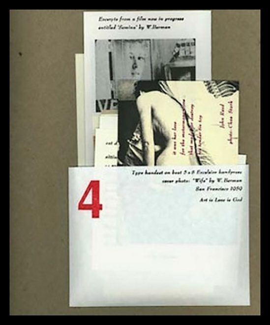 Wallace Berman- semina-journal-no-4? 1959