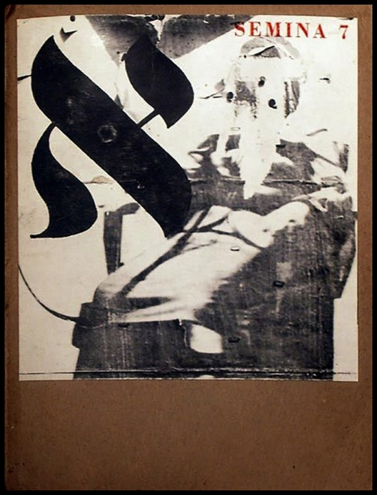Wallace Berman- Semina 7, 1961, Santa Cruz Museum of Art0