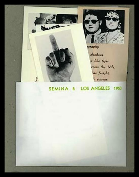 Wallace Berman- Semina 8 , 1963
