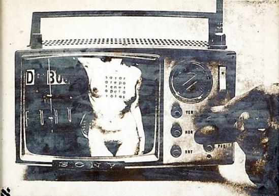 Wallace Berman Untitled (TV), 1964