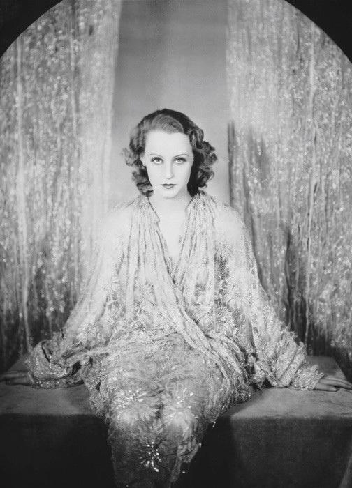 Emil Otto Hoppé - Portrait de L' actrice Brigitte Helm, 1928