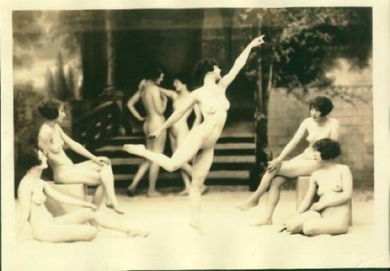 Albert Arthur Allen- Study from The Model- 1925