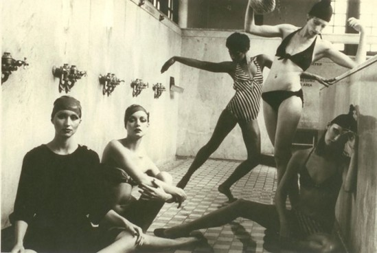 deborah turbeville- Bathhouse series, Vogue 1975. Photography by Deborah Turbeville, courtesy of Staley-wise Gallery, New York.