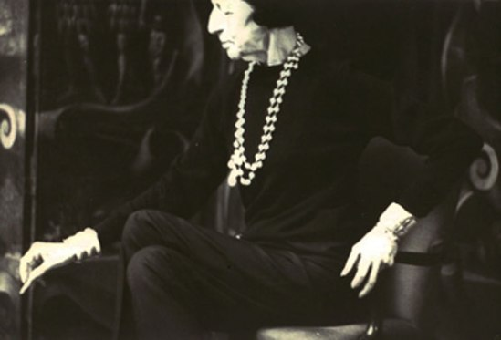 Deborah Turbeville-  Diana Vreeland , 1981