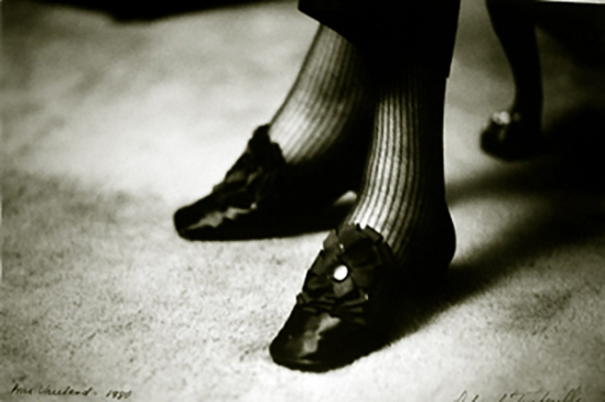 Deborah Turbeville, Diana Vreeland's Shoes, New York, VOGUE, 1981 from past imperfect