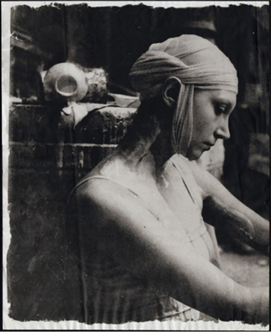 Deborah Turbeville – fromEcole Des Beaux Arts, 1977, from Past Imperfect