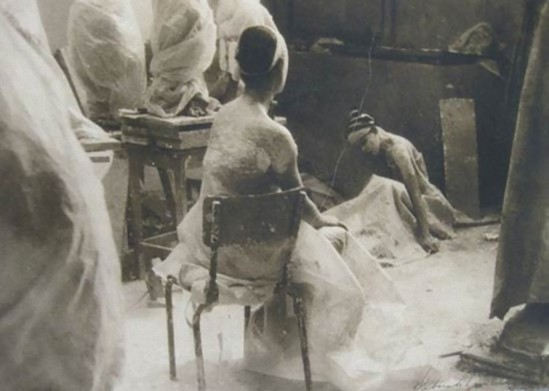 Deborah Turbeville – fromEcole Des Beaux Arts,1974-1980 from Past Imperfect