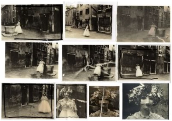 Deborah Turbeville – Masks at venice carnival,