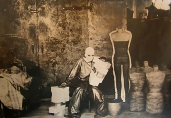 Deborah Turbeville, For Charles Jourdan, Clothes by Betsy Johnson, Woolf Form Dummy Factory in New York, 1974 1_e