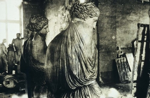 Deborah Turbeville - from Unseen Versaille, 1981