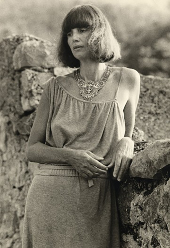 Deborah Turbeville on the island of Hvar, Croatia, 1986. Photo by Courtesy Photo