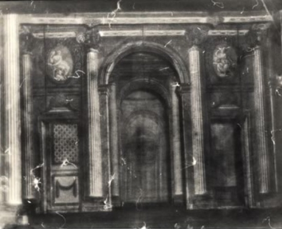 Deborah Turbeville- Petit theater of Marie Antoinette, Versailles, 1978