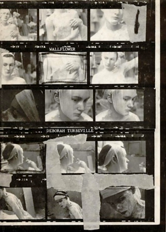 "Deborah Turbeville, planche contact, Ecole Des Beaux Arts,1977  from ""Wallflower"" (Hardcover – 1978)"
