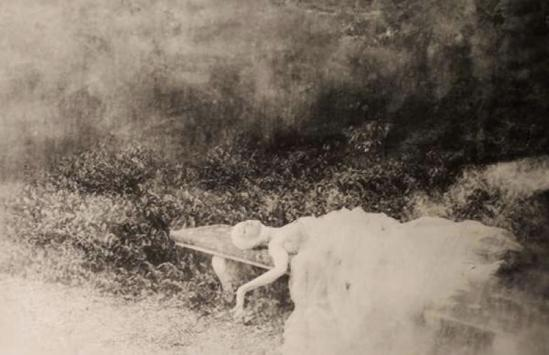 Deborah Turbeville- Rosana, Parco, Paris, 1980, from the book of photographs, Past Imperfect,(ed• Steidl, 2009)