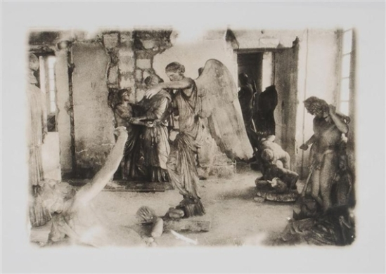 Deborah Turbeville- Versailles, 15 janvier 1980 from Unseen Versailles. Photographs by Deborah Turbeville. Introduction by Louis Auchincloss. Doubleday & Co., Garden City, NY, 1981