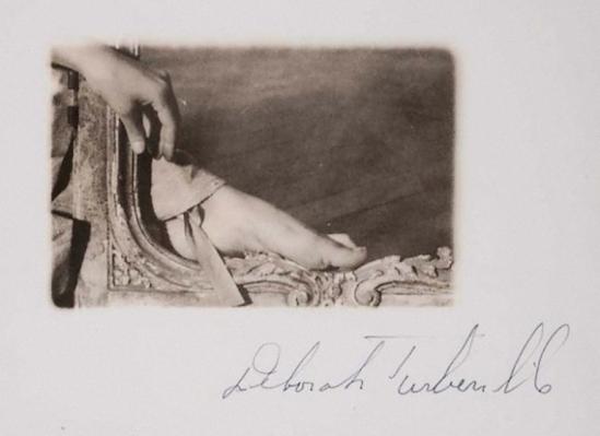 Deborah Turbeville -Versailles, boiseries dans la chambre de Mme Adelaïde, 1980_e