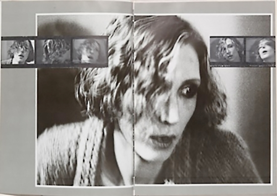 Deborah Turbeville, Wallflower, self -portrait 1978
