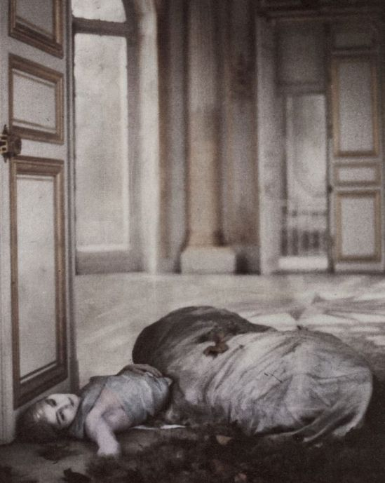 Deborah Turbeville- 'What Happened at Versailles ?'  for Vogue US, December 1980