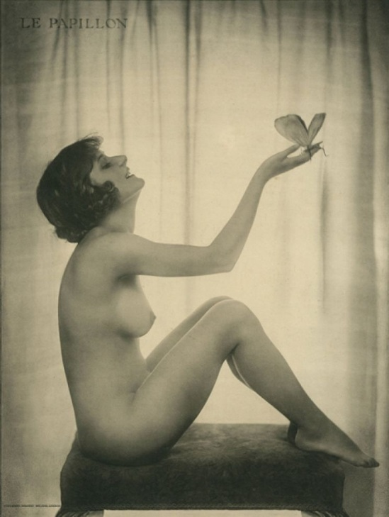 "Dorothy Wilding - ""Le Papillon ""(Unidentified woman) 1920 © William Hustler and Georgina Hustler"