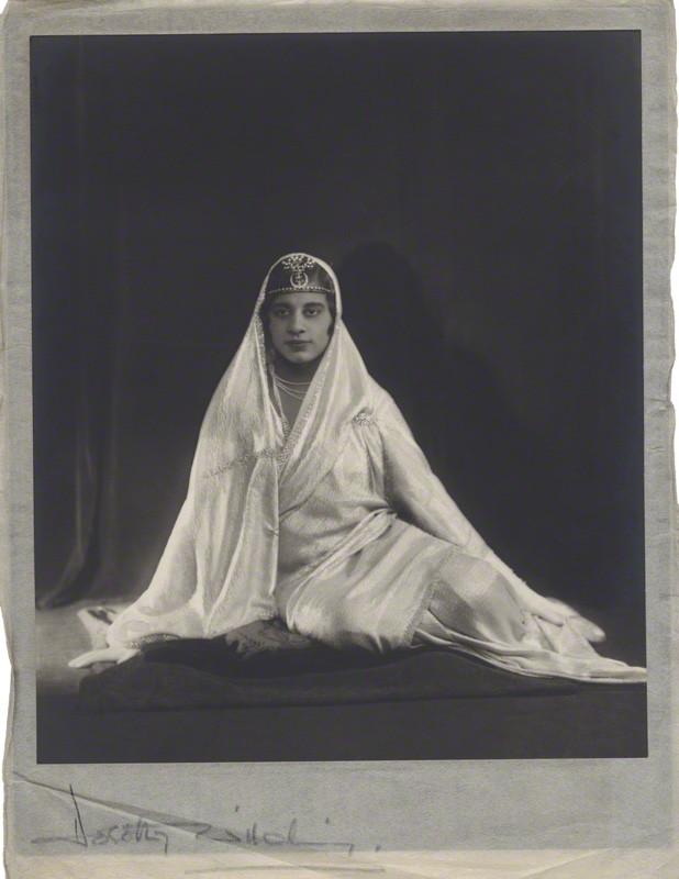 Dorothy Wilding -Maharaj Kumari Sudharani Devi of Burdwan, 1927 © William Hustler and Georgina Hustler