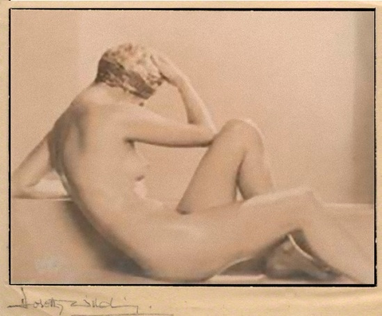Dorothy Wilding -nude study, 1920 © William Hustler and Georgina Hustler