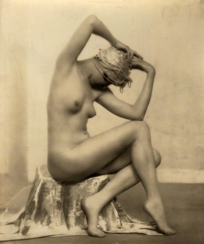 Dorothy Wilding- The Silver Turban.1928 © William Hustler and Georgina Hustler