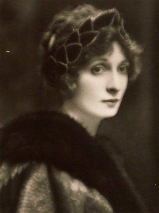 E. O. Hoppé - Hazel (née Martyn), Lady Lavery, 1916 gelatin silver print,